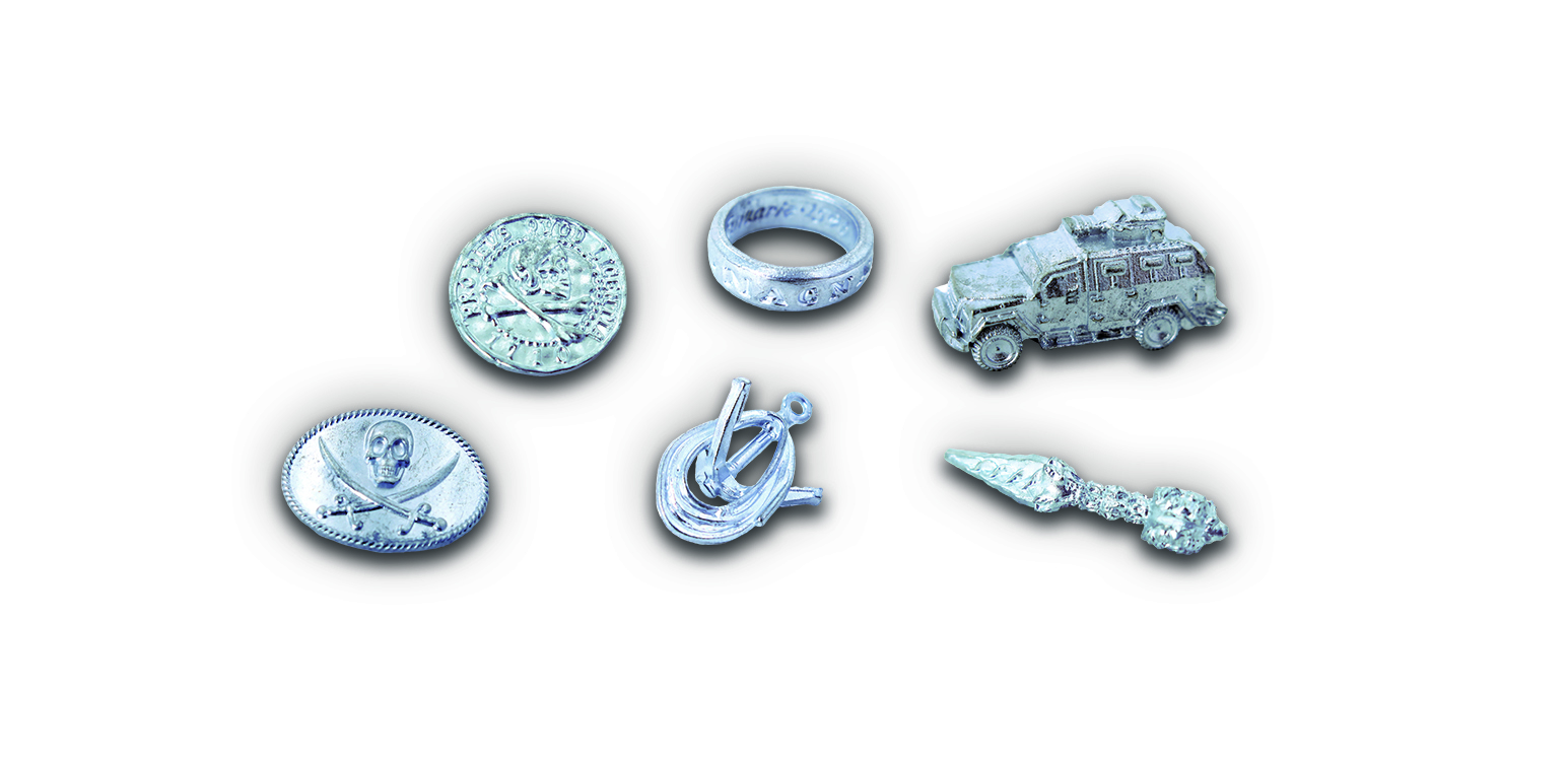 3700126909986 Monopoly Uncharted TOKENS
