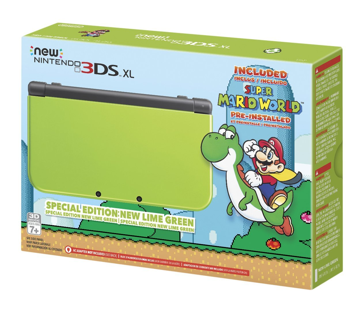 3DS Lime Green1