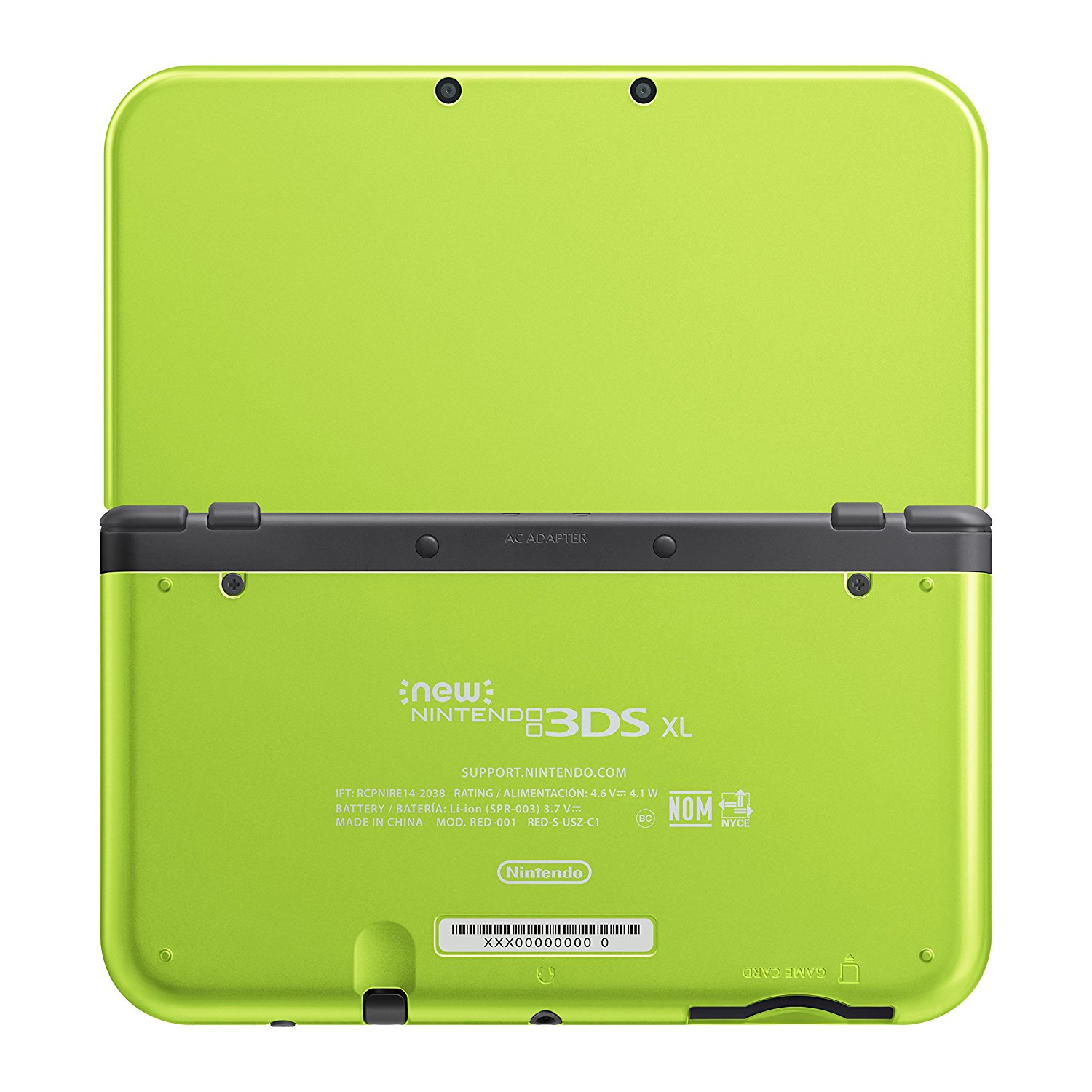 3DS Lime Green2