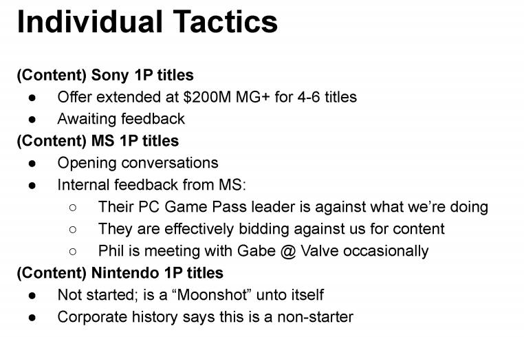 Epic PlayStation