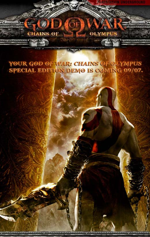 God of War PSP Demo