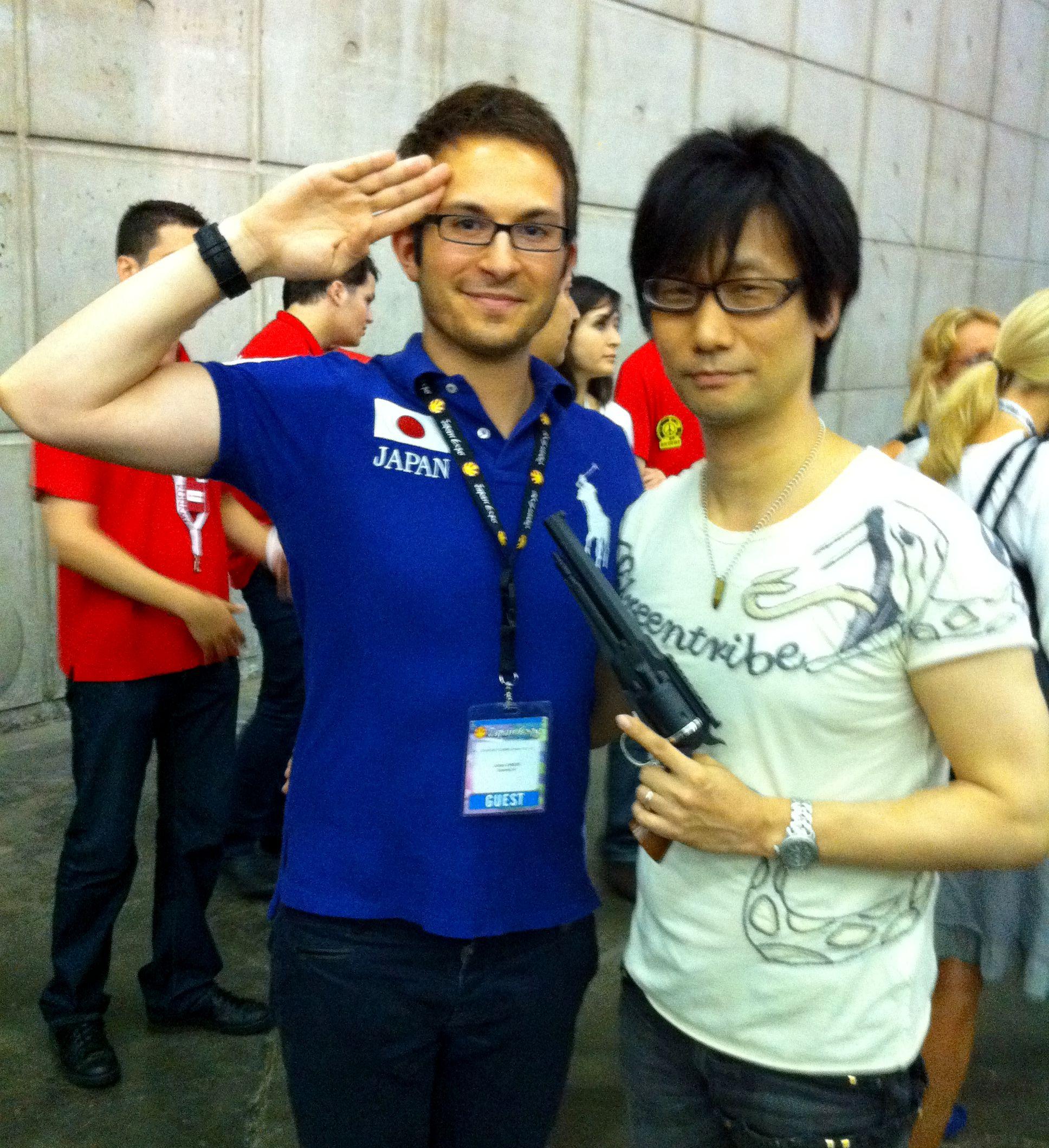 Hideo Kojima JapanExpo 004