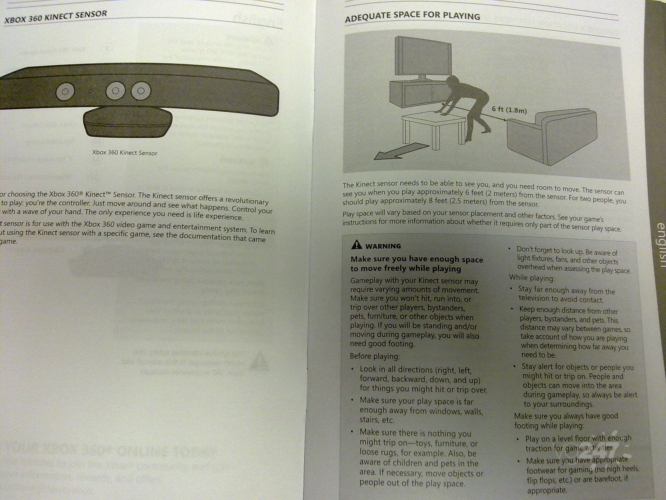 Kinect Manual 003