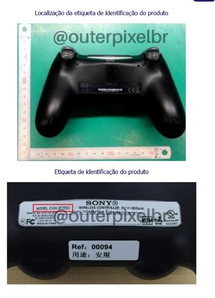 Manette PS4 fuite2