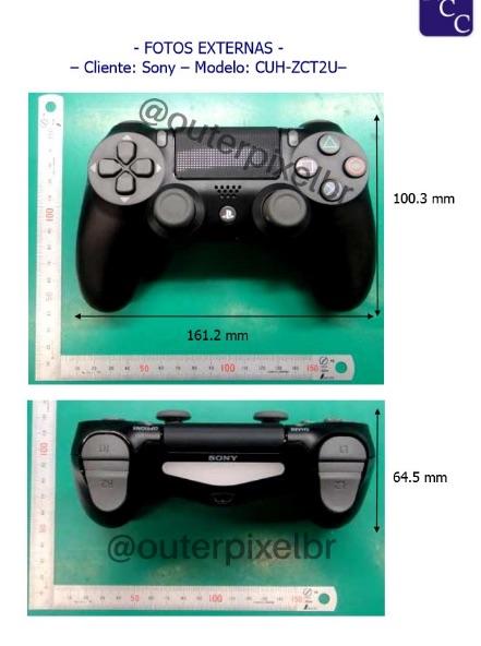 Manette PS4 fuite3