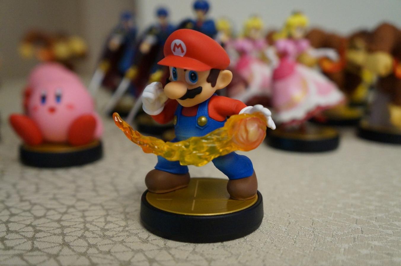 Mario amiibo commerciale