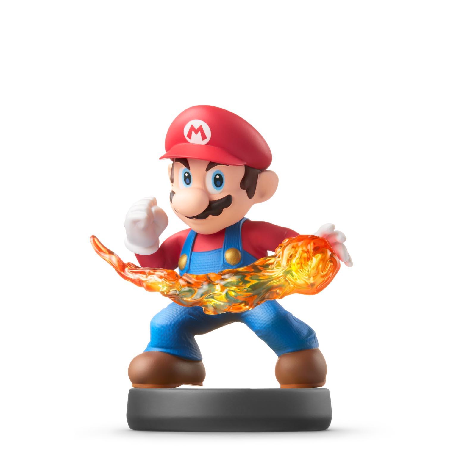 Mario amiibo prototype