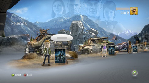 NXE-Theme HaloWars