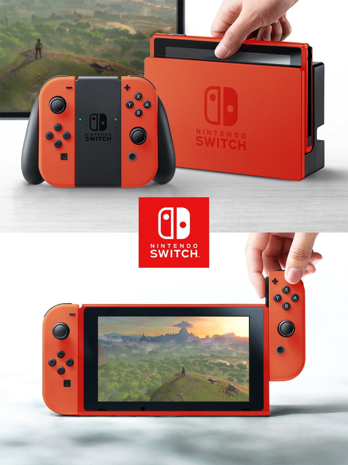 Nintendo Switch Couleurs5