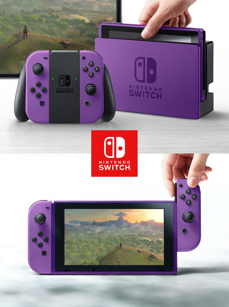 Nintendo Switch Couleurs6