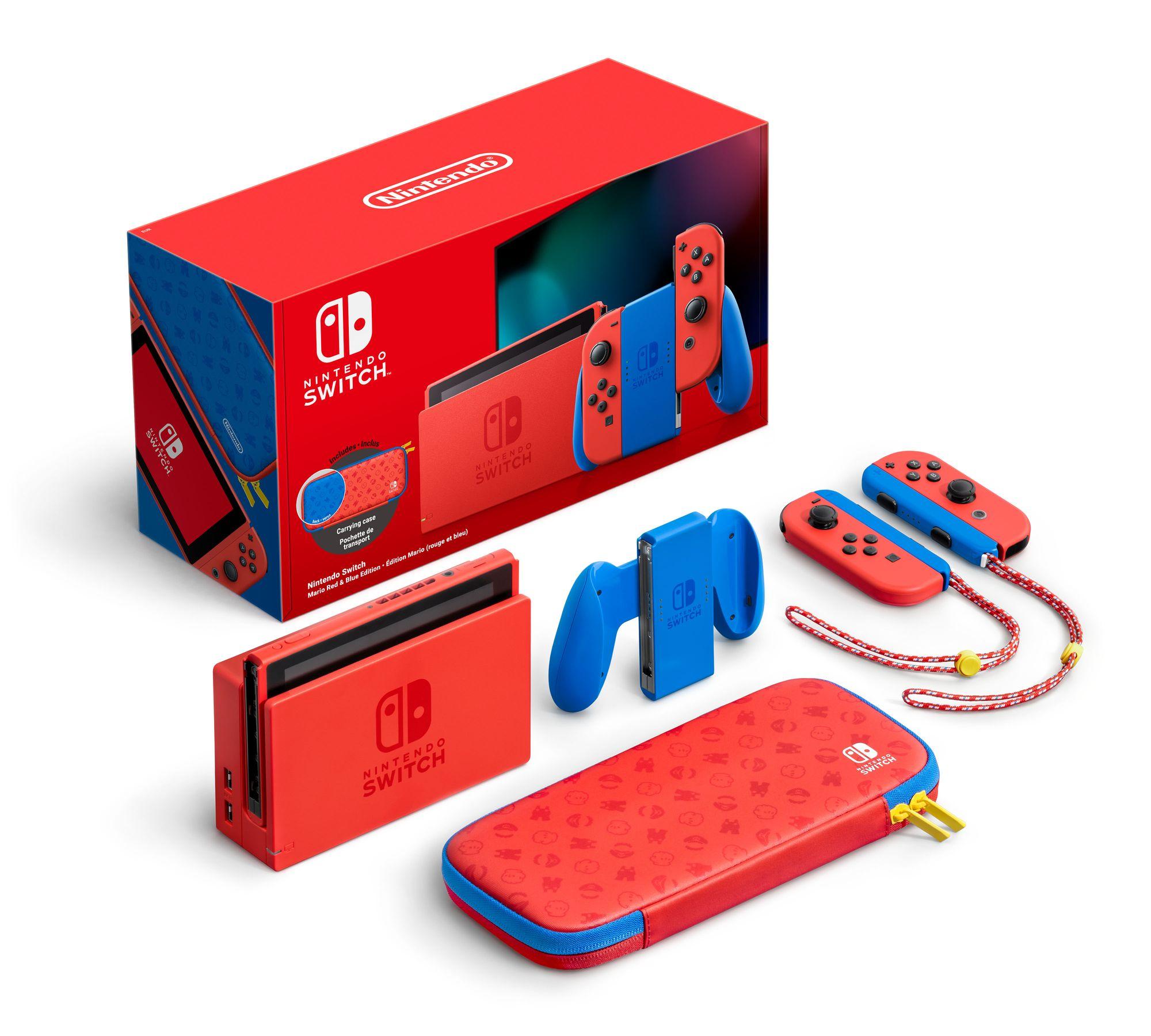 Nintendo Switch Mario Visuel Ensemble