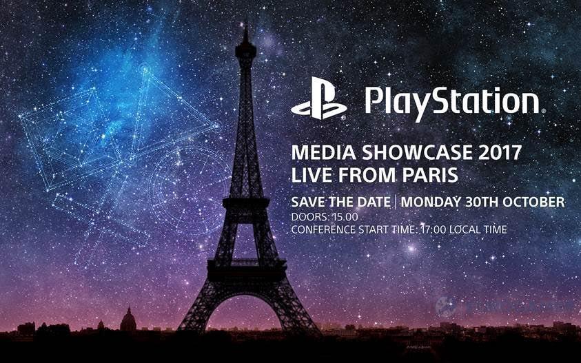 ParisGamesWeek PlayStationMediaShowcase 2017