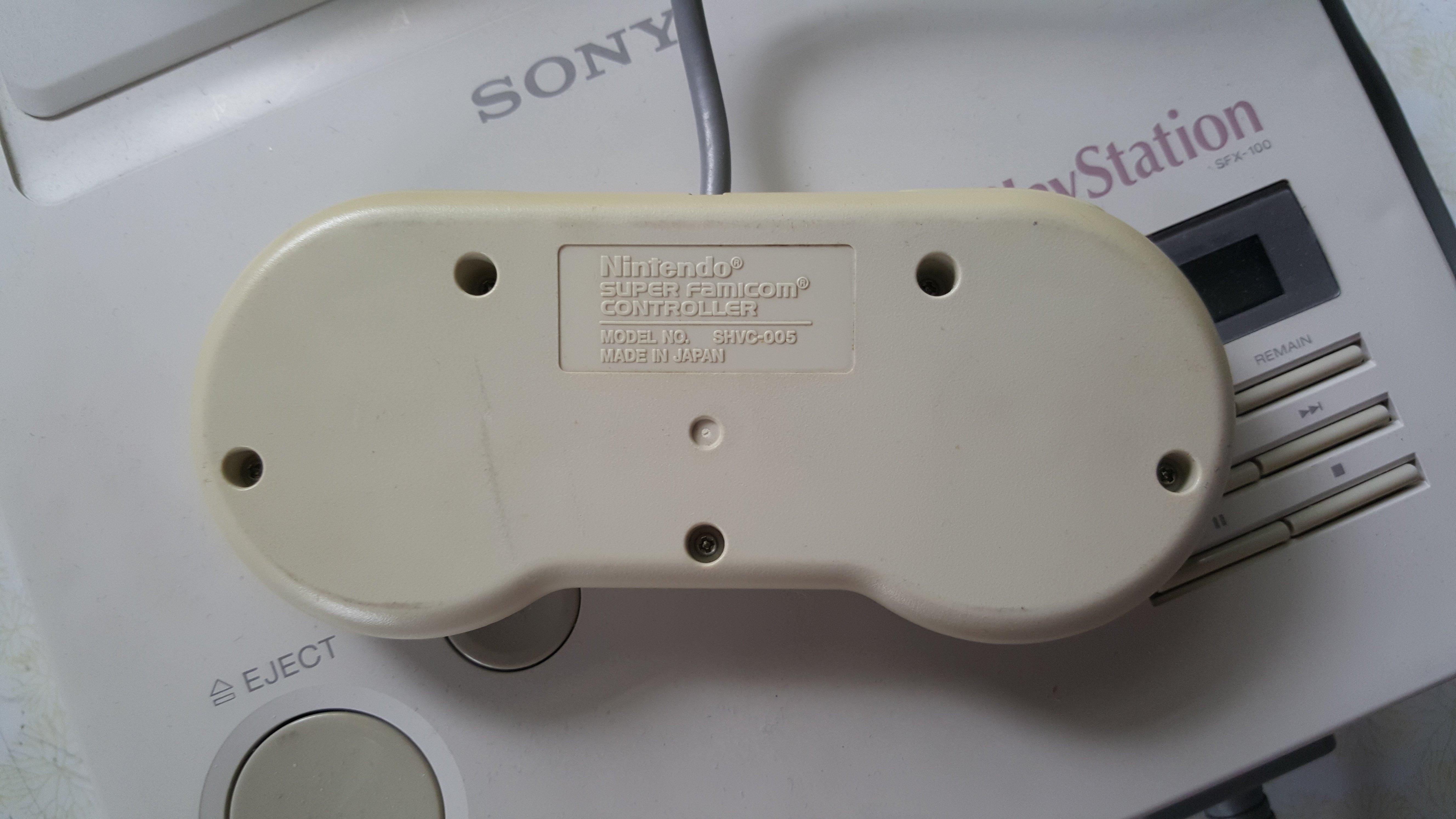 Une personne possède le prototype PlayStation Super Nintendo  PlayStation_Prototype_-5-