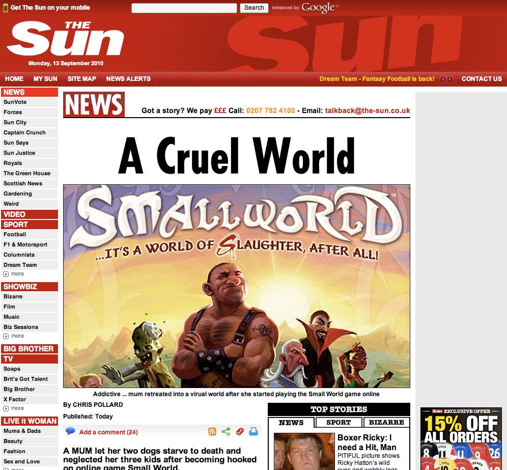 SmallWorldMistake Sun