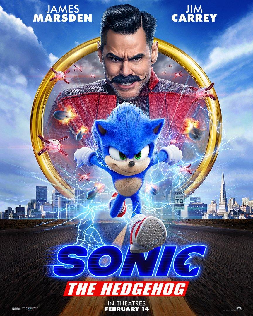 SonicLeFilm Affiche USA