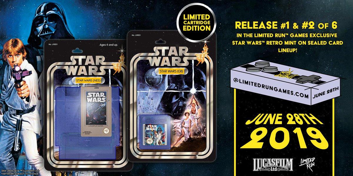 StarWars LimitedRun NES GameBoy