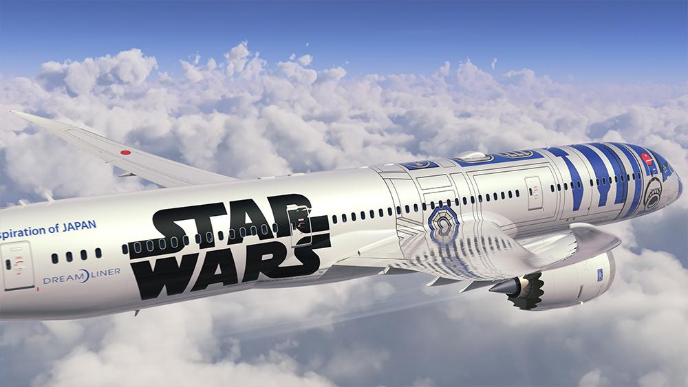 StarWars R2D2 Avion 02