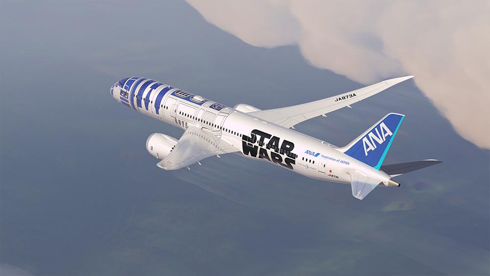 StarWars R2D2 Avion 04
