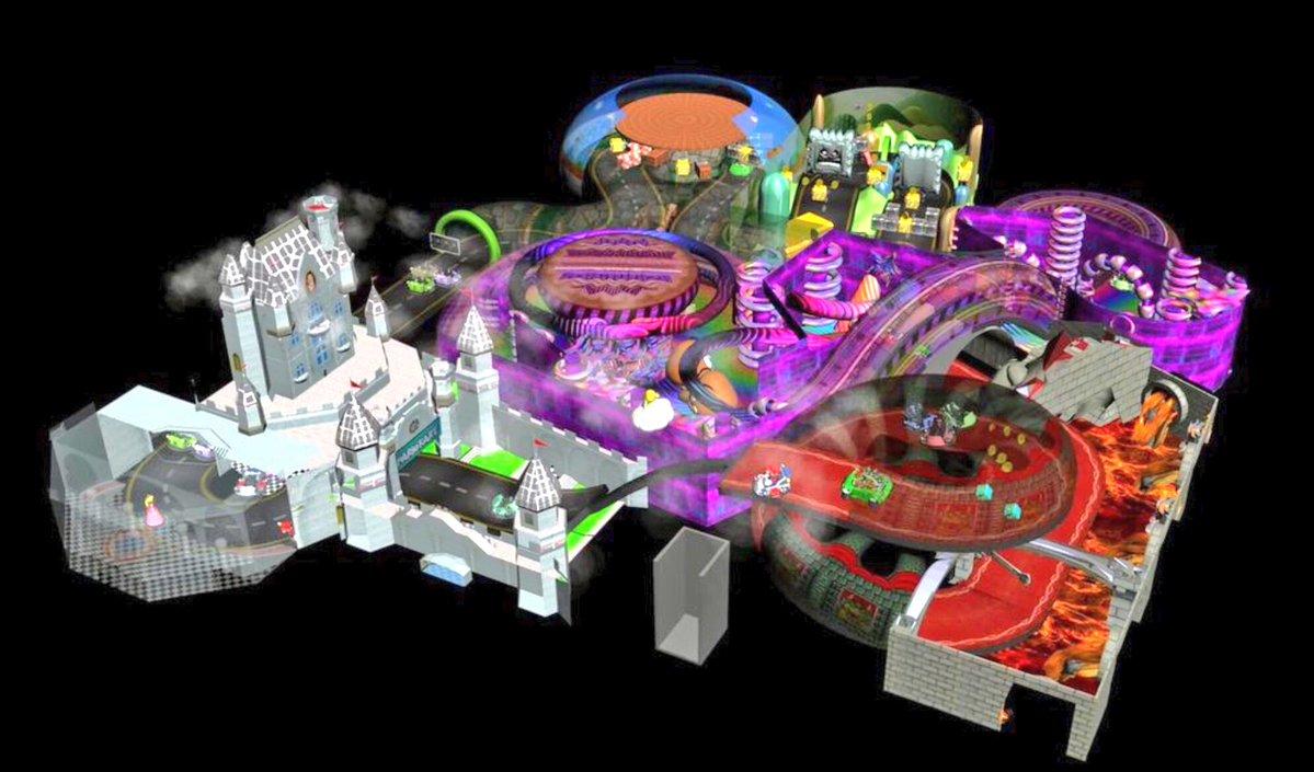 SuperNintendoWorld Attraction ConceptArt 02