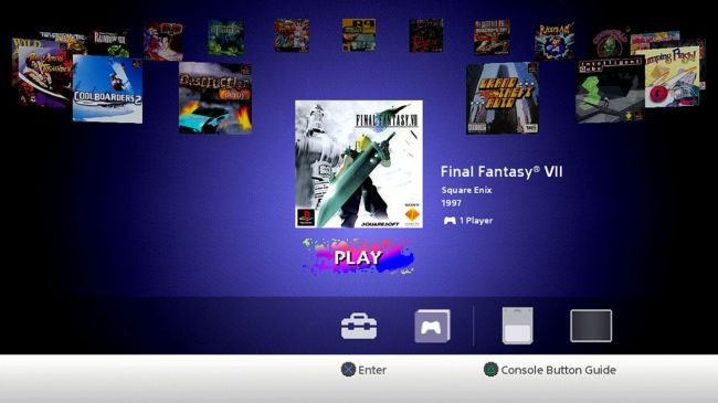 Test PlayStation Classic 5
