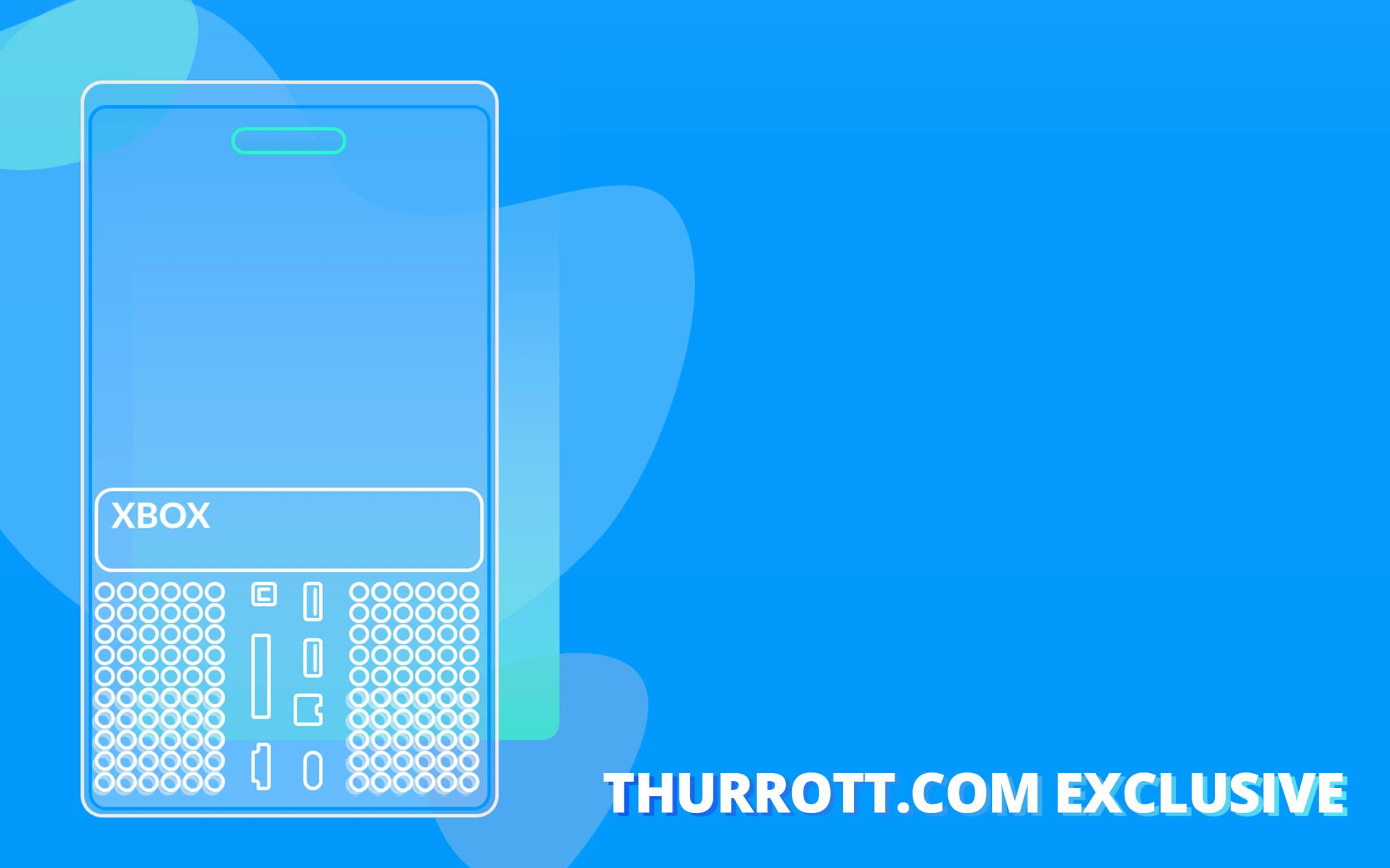 Xbox SeriesX Arriere Croquis Thurrott