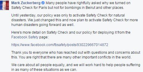 Zuckerberg AttentatsParisGB