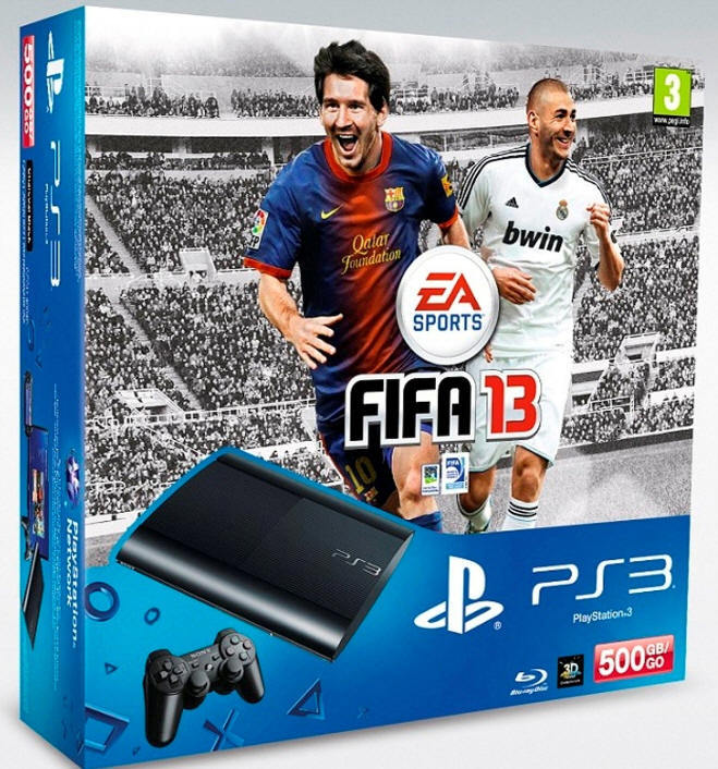 pack ps3 500GoFIFA13