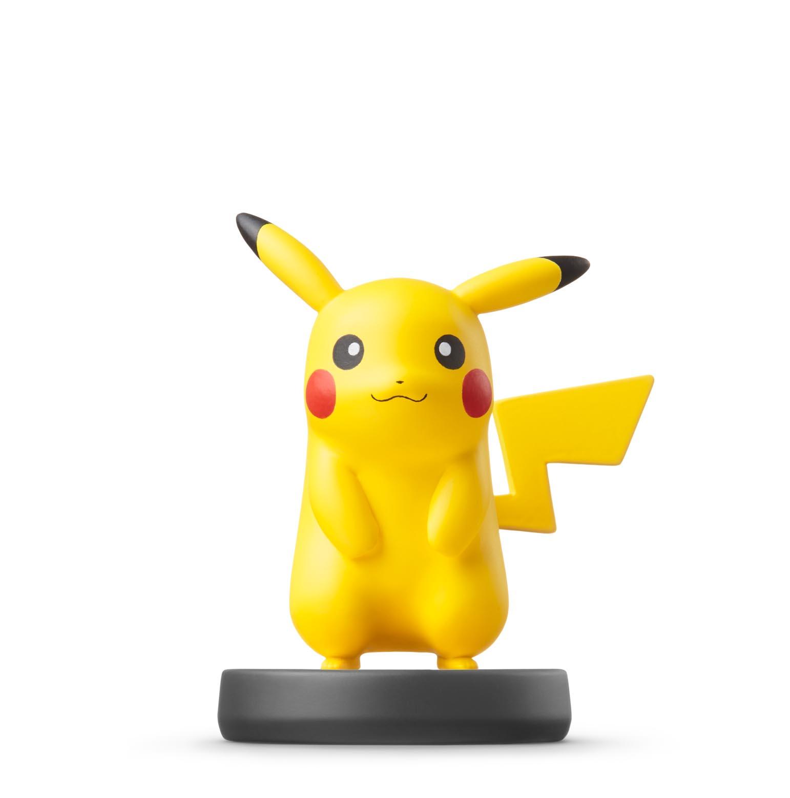 pikachu amiibo prototype