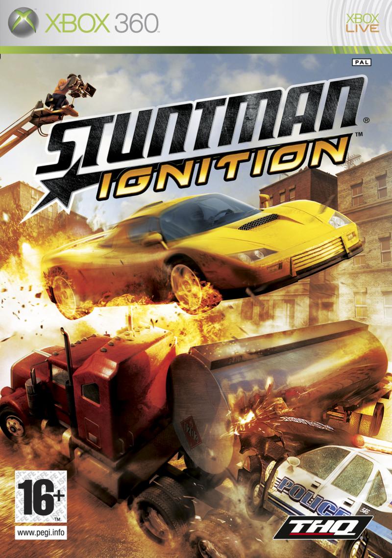 StuntmanIgnition Xbox360 Jaquette