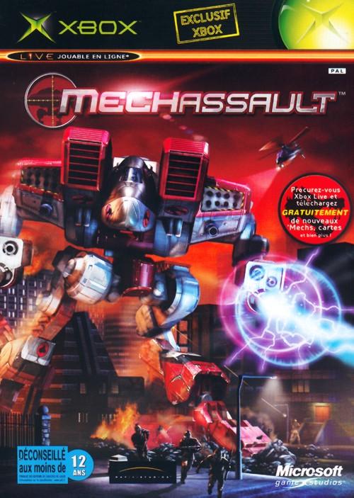 MechAssault Xbox Jaquette 001