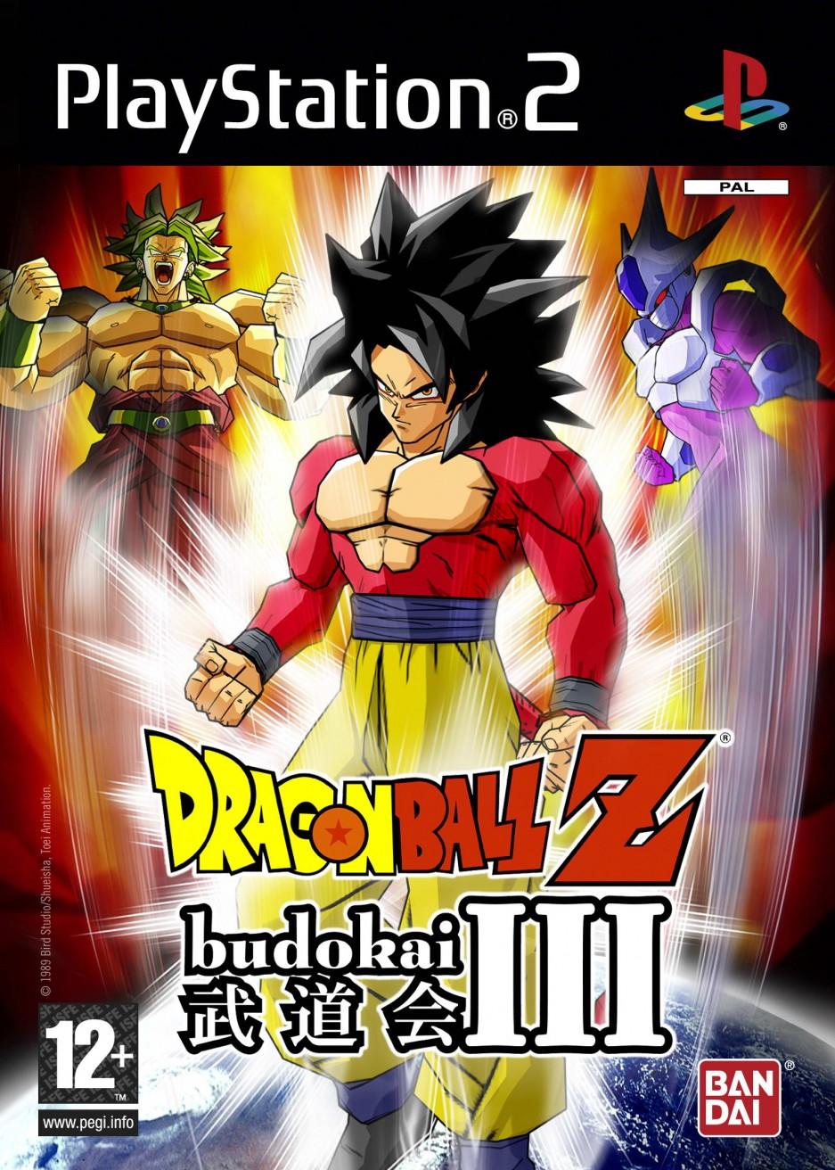 DragonBallZBudokaiIII PS2 Jaquette 001