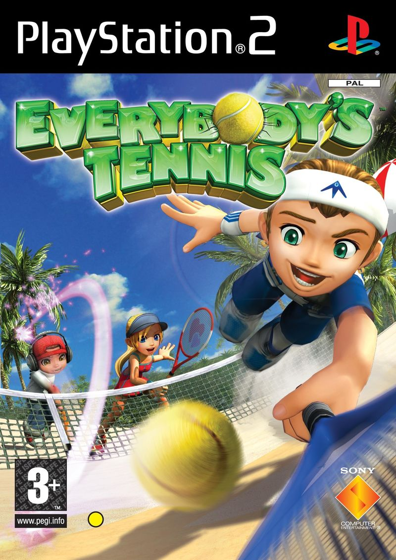 EverybodyTennis PS2 Jaquette