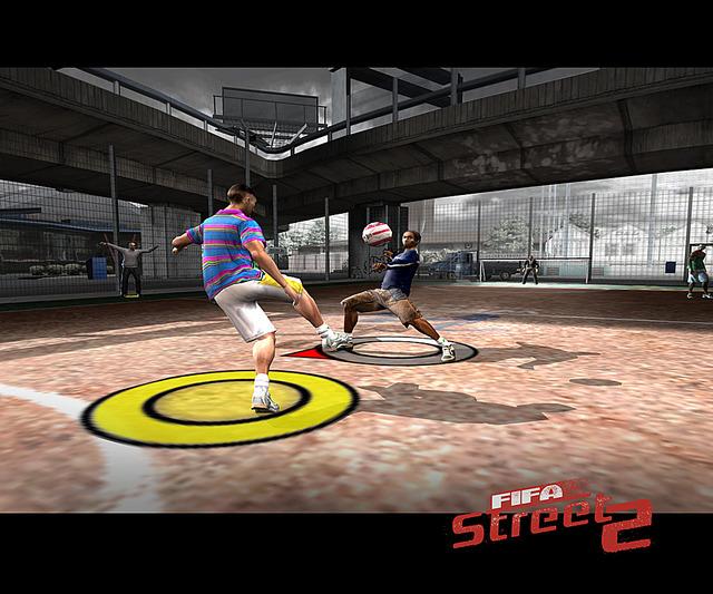 Fifastreet2 PS2 Editeur 001