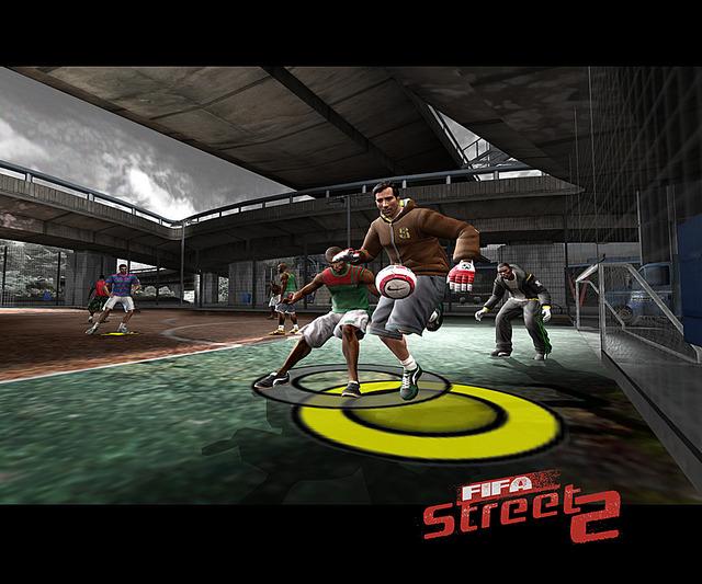Fifastreet2 PS2 Editeur 002