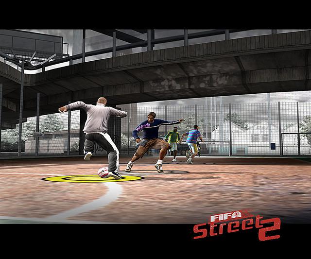 Fifastreet2 PS2 Editeur 004