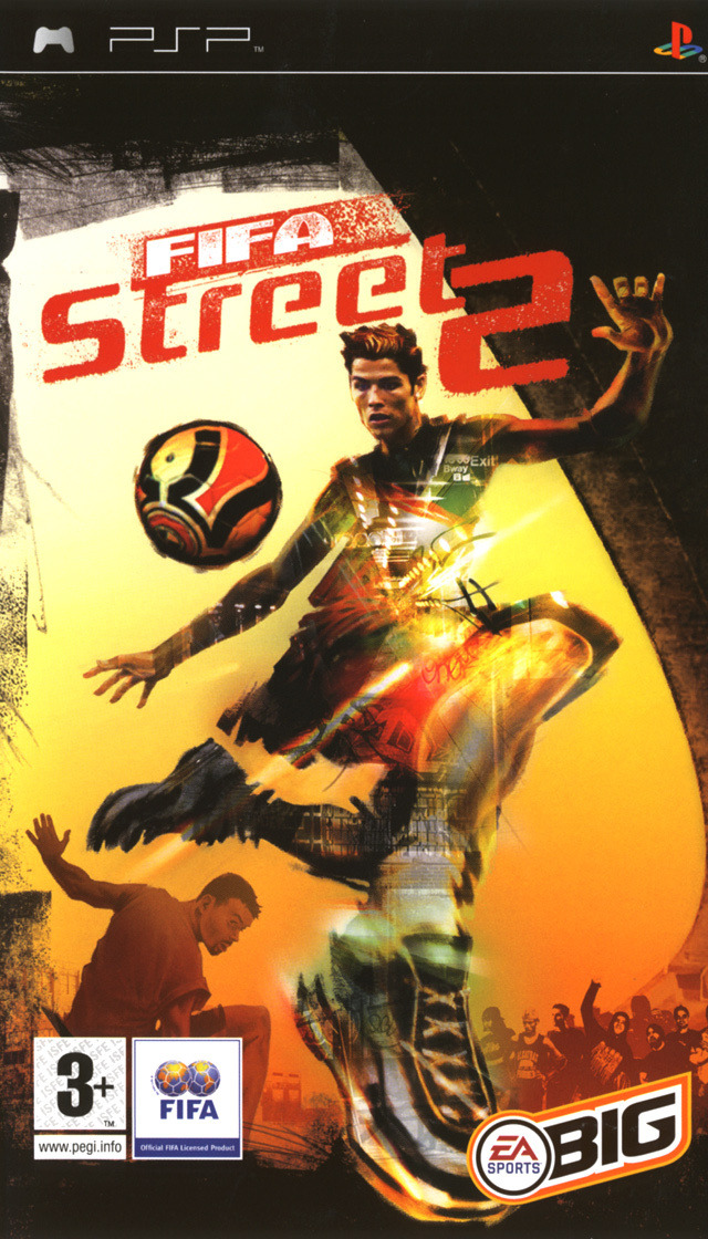 FIFAStreet2 PSP Jaquette 001