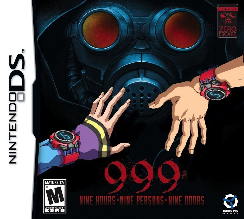 999-NineHours-NinePersons-NineDoors DS Jaquette 002