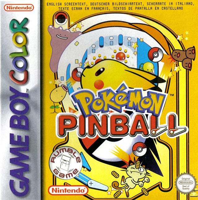 PokemonPinball GBColor Jaquette 001