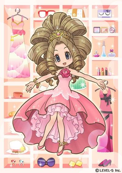 GirlsRPGCinderelife 3DS Visuel 002