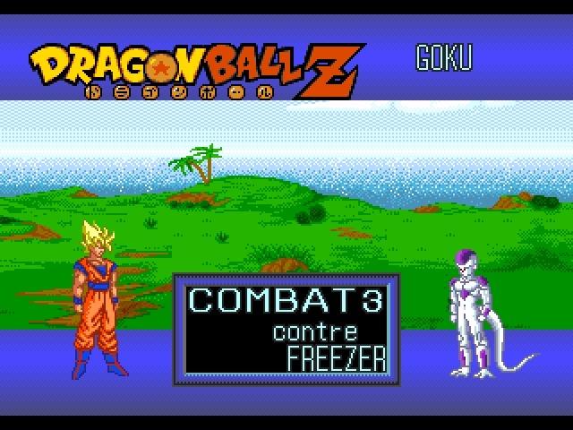 DragonballZ-l-AppelDuDestin Megadrive Editeur 001