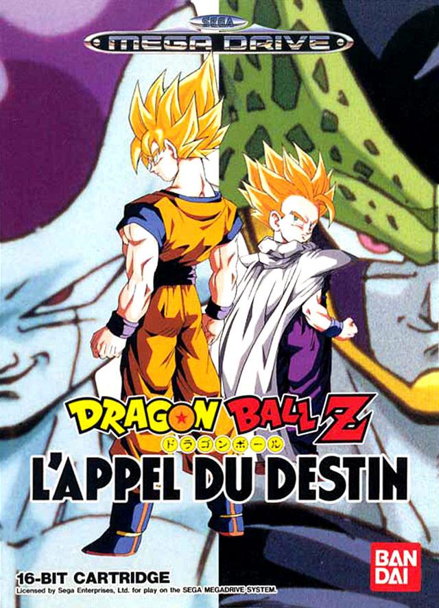 DragonballZ-l-AppelDuDestin Megadrive Jaquette 001