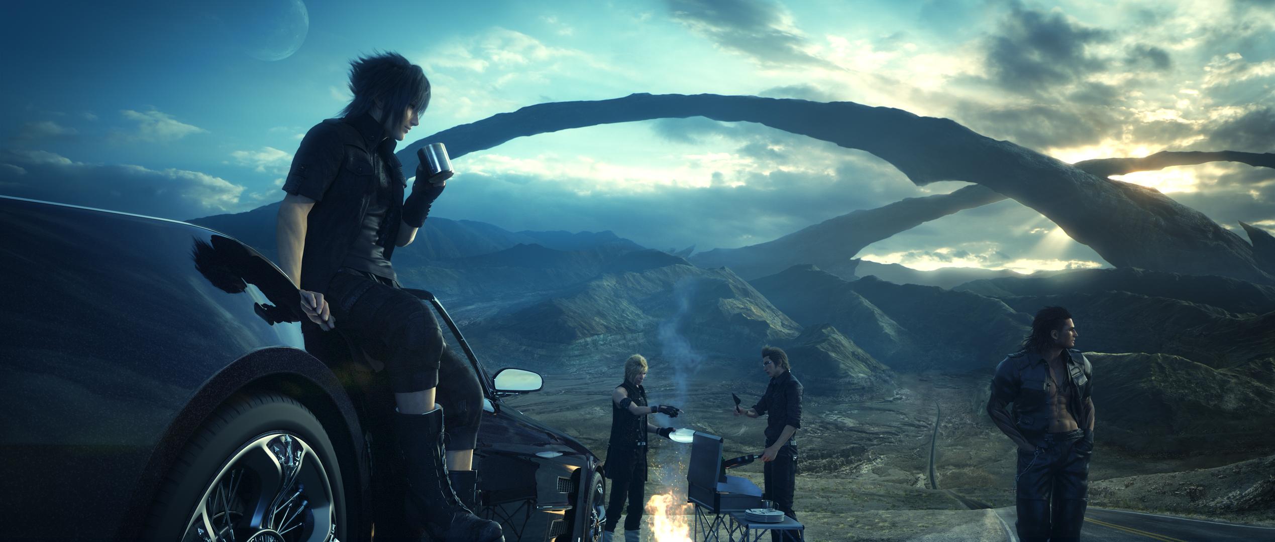 Final-fantasy-xv Landscape