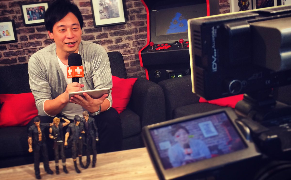 Hajime Tabata NintendoSwitch