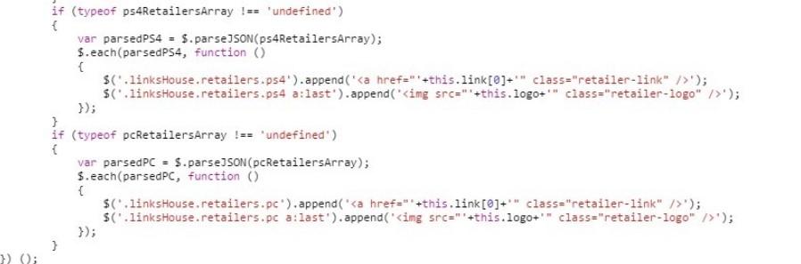 Page Javascript FF15 02