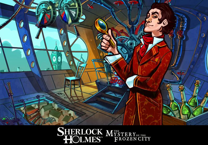 SherlockHolmesetleMysteredelaVilledeGlace 3DS Editeur 001