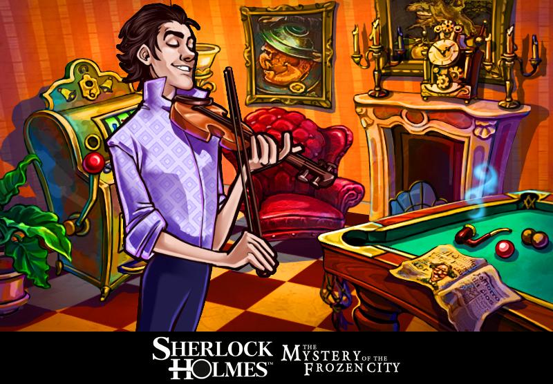 SherlockHolmesetleMysteredelaVilledeGlace 3DS Editeur 004