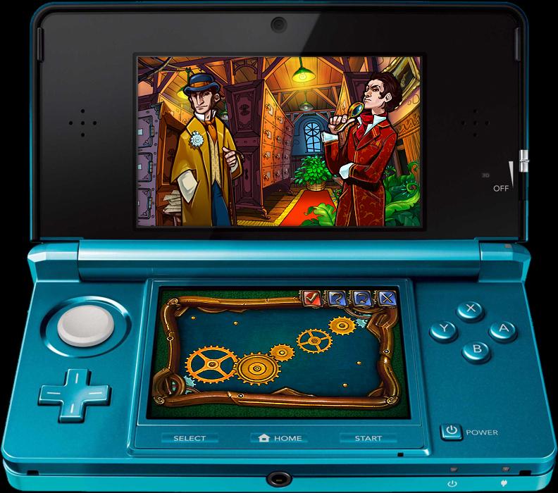 SherlockHolmesetleMysteredelaVilledeGlace 3DS Editeur 005