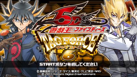 Yu-Gi-Oh-5D-sTagForce6 PSP Editeur 002