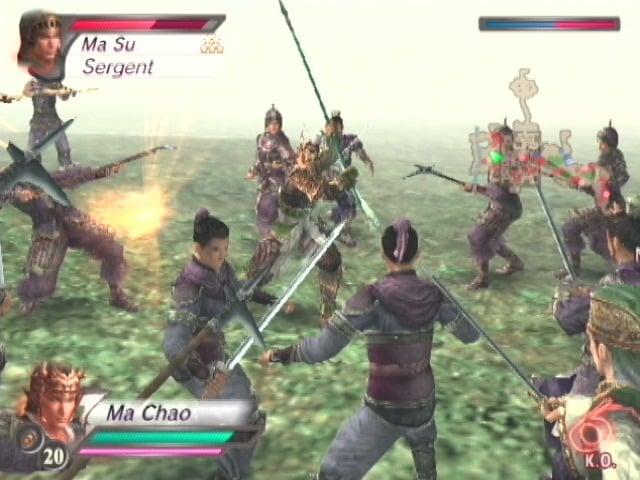 DynastyWarriors4-XtremeLegends PS2 Div 008