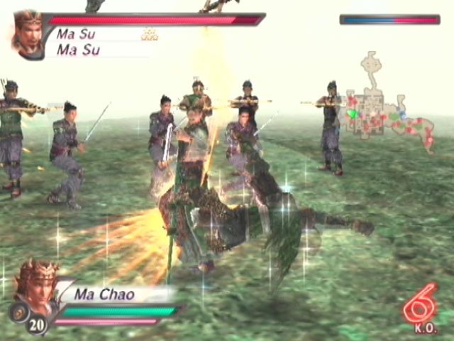 DynastyWarriors4-XtremeLegends PS2 Div 012